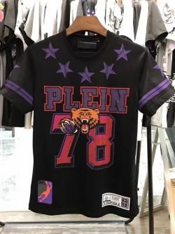Philipp Plein SS2017 Mens T-Shirt Yonder Bear Black