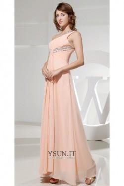 Vestito lungo elegante Schiena Nuda sarsenet alta vita/cintola – www.ysun.it