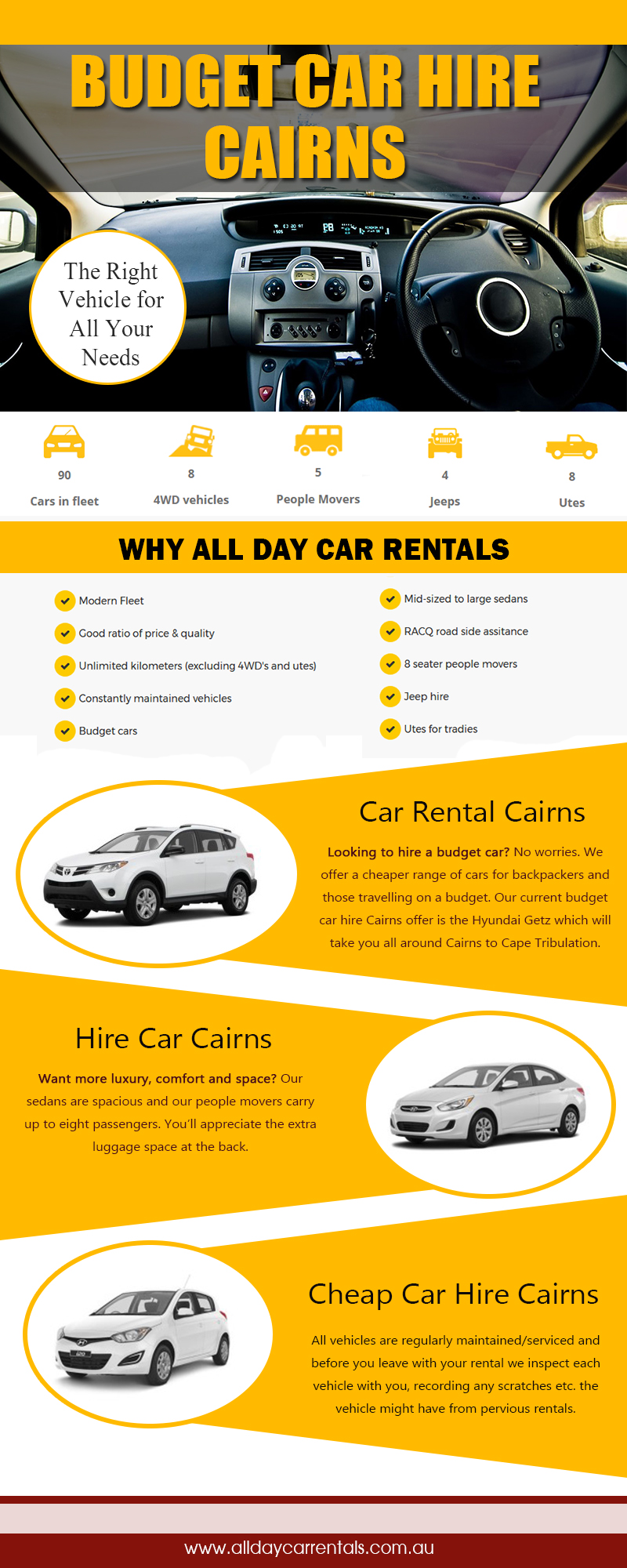 Budget car hire Cairns