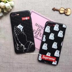 Supreme シュプリーム iPhone8plus iphone7 plus ソフトケース アイフォン8 ジャケット パロティ