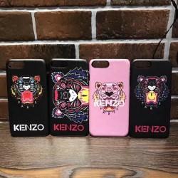 KENZO アイホン8ケース ジャケット iphone8plusカバー タイガー パロディー カッコイイ
