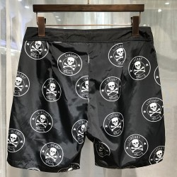 Philipp Plein SS2017 Mens Beach Short Skull Print Black