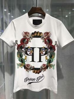 Philipp Plein SS2017 Mens T-Shirt Plein's Animals White
