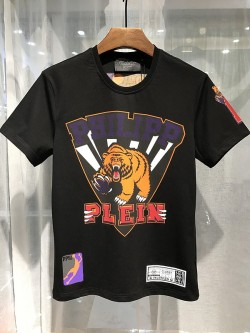 Philipp Plein SS2017 Mens T-Shirt Sporty Bear Black