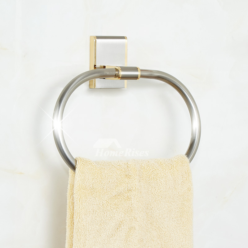 A few Offers that will support you to buy the Brushed Nickel Towel Ring at inexpensive rates | C ...