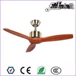 East Fan 42inch 3 Blade natural wood Ceiling Fan without light item EF42003B | Ceiling Fan