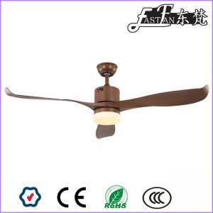 East Fan 56 inch Three Blade Brown Ceiling Fan with light item EF56104A | Ceiling Fan