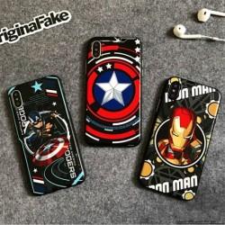 マーベル Marvel ブランド iphoneX ケース ディズニー 浮き彫り アイフォン6sプラス カッコイイ 大歓迎 ...