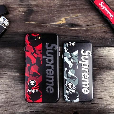 商品名:iphoneX ブランド シュプリーム supreme エーエイプ AAPE アクリル製 ハードケース カバー アイ ...