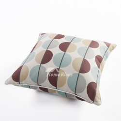 Paisley Square Colorful Couch Pillows