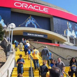 Oracle Arena Oakland