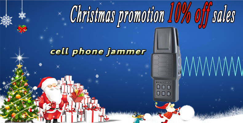 Christmas signal jammer promotions