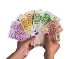 1000 euroa