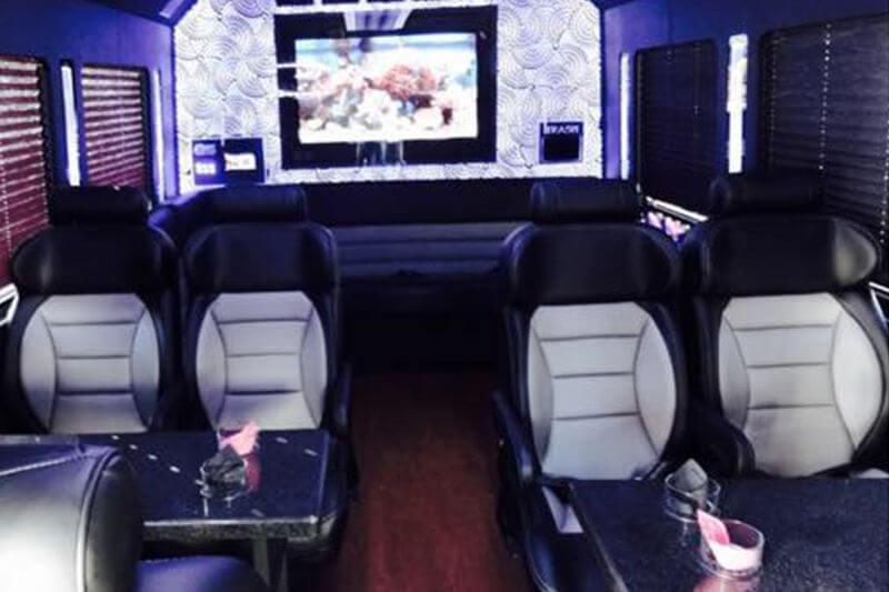 charleston party bus