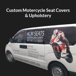 Custom Motorbike & Motorcycle Seat Covers Melbourne – ACM Seats