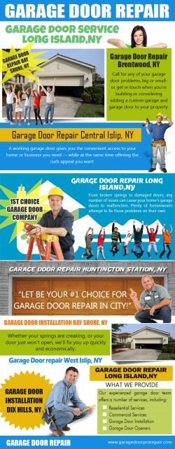 Garage Door Install Long Island, NY