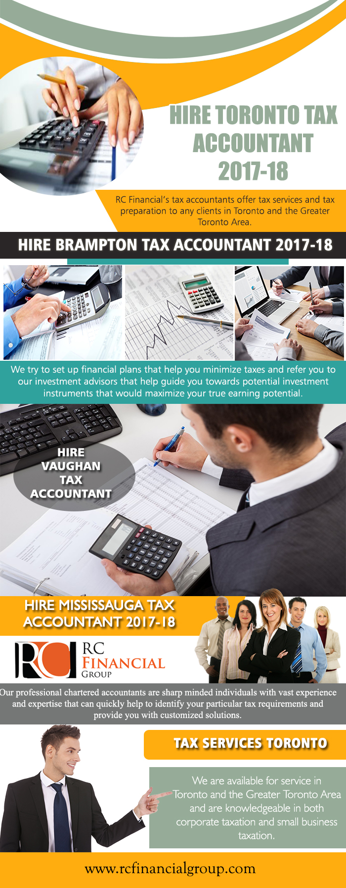 Hire Toronto Tax Accountant 2017-18