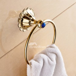 What makes the Brass Towel Ring a worthy accessory for your bathroom?