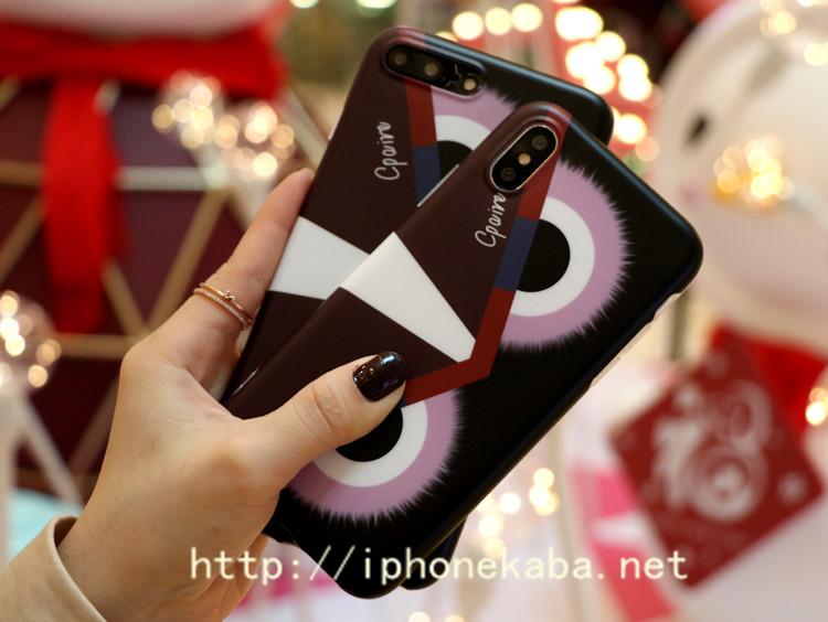 ブランド フェンディ モンスター柄 iPhone xケース FENDI アイフォン8カバー ジャケット 可愛い iphone ...