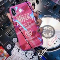 ブランド Stussy iphoneXケース ステューシー 薄い アイフォン7 プラス ストリート風 iphone6カバー