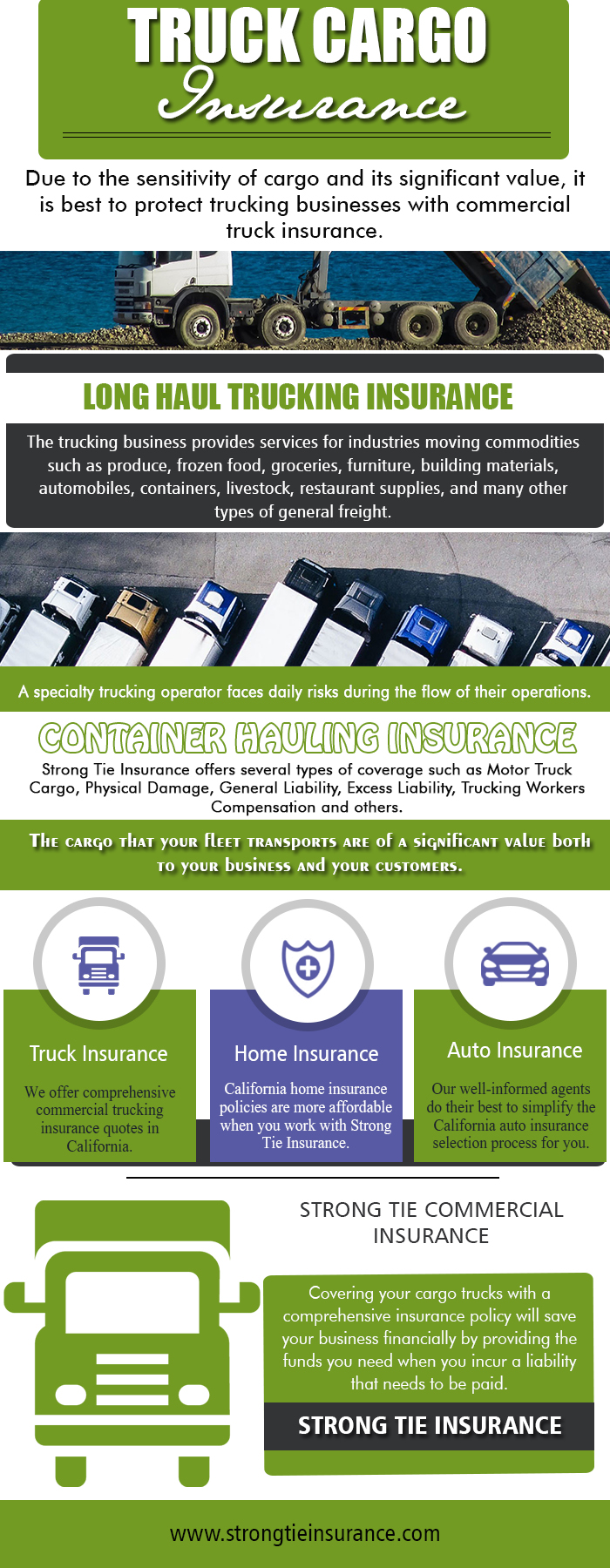 Long Haul Trucking Insurance