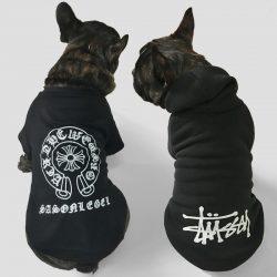 クロームハーツ犬服 クロームハーツブランドドッグウェア 犬用服 小型犬 春秋冬用