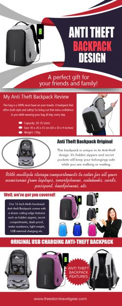 Anti Theft Backpack Original