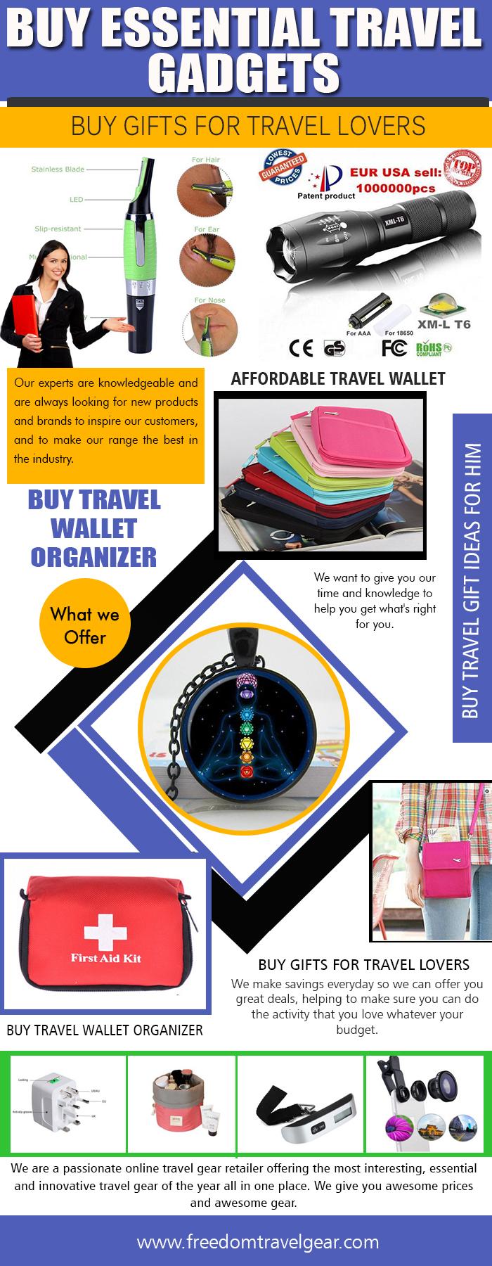 Buy Essential Travel Gadgets