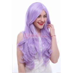 75cm Long Curly Purple Cosplay Wigs CB65A – L-email Cosplay Wig