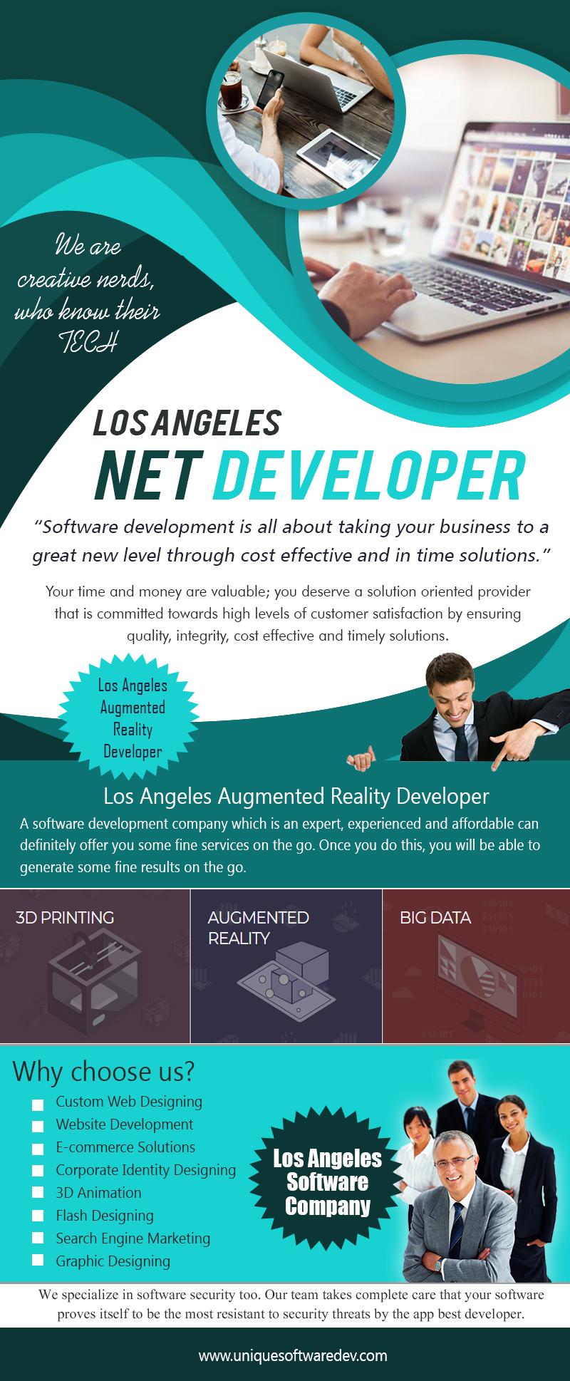 Los Angeles Net Developer