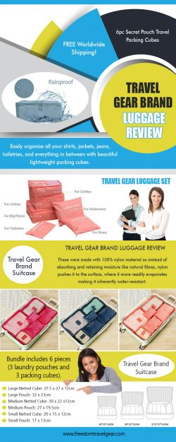 Travel Gear Brand Suitcase