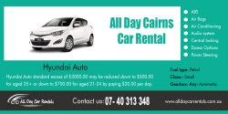 All Day Cairns car rental