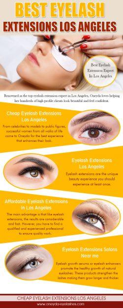 Best Eyelash Extensions Los Angeles