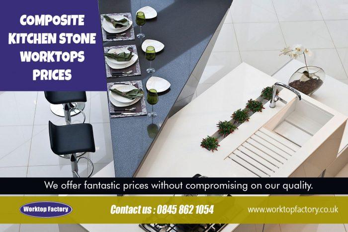 Composite kitchen stone worktops prices