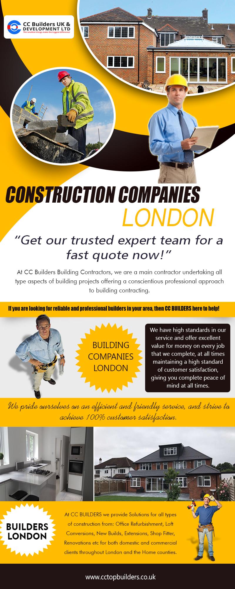 Construction Companies London