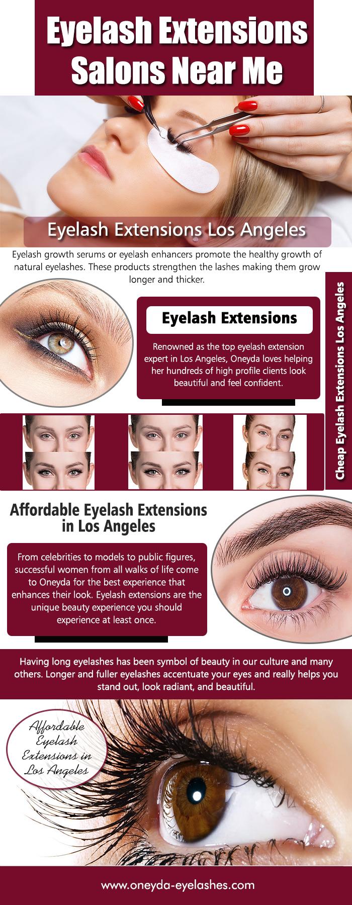 Eyelash Extensions Salons Near Me