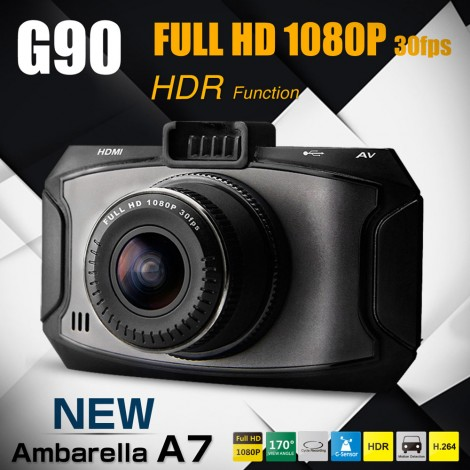 Full HD Ambarella A7 Car Camera DVR