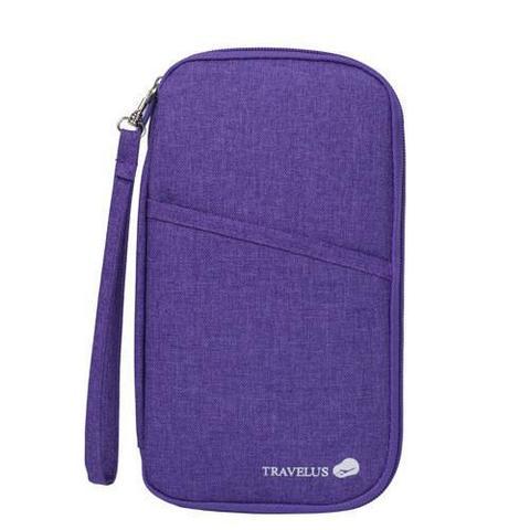 Plum Purple Premium Travel Wallet