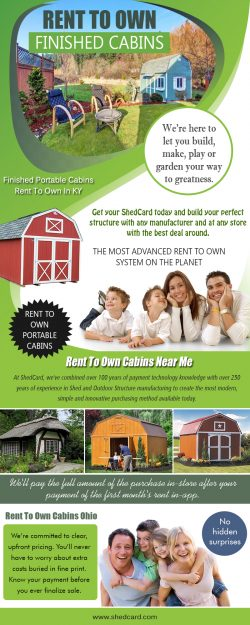 Rent To Own Finished Cabins