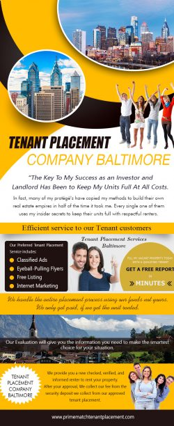 find me a tenant Baltimore (Call us On 888-868-6291)