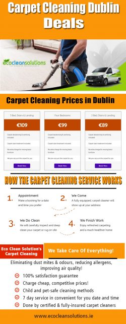 Carpet Cleaning Dublin Deals