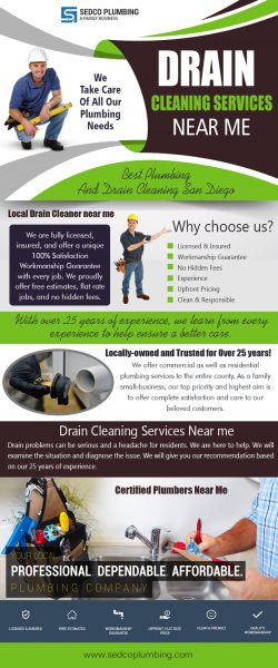 Drain Cleaning Services Near Me