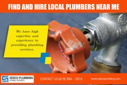 Find And Hire Local Plumbers near me