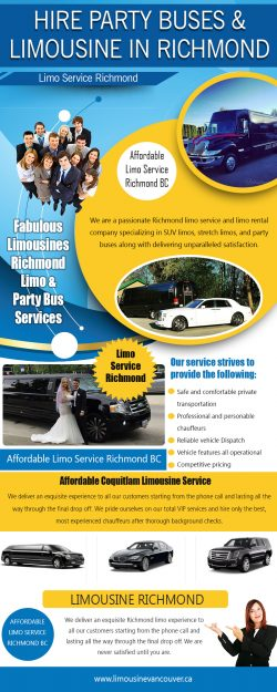 Hire Party Buses & limousine inRichmond
