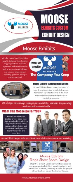 Moose Exhibits Trade Show Booth Design