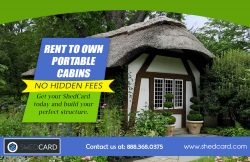 Portable Log Cabins Rent To Own