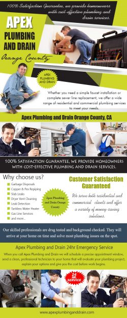Apex Plumbing and Drain Orange County, CA|apexplumbinganddrain.com