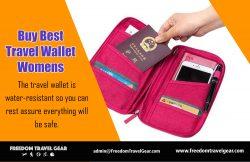Buy Best Travel Wallet Womens | https://www.freedomtravelgear.com/