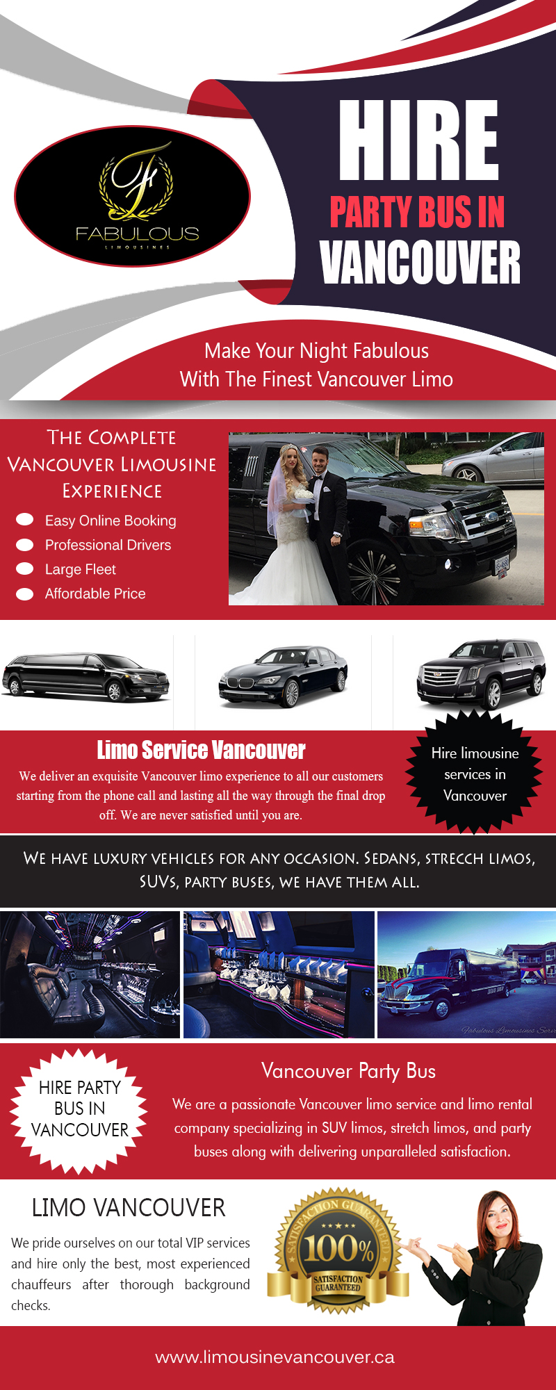 Hire Party Bus in Vancouver