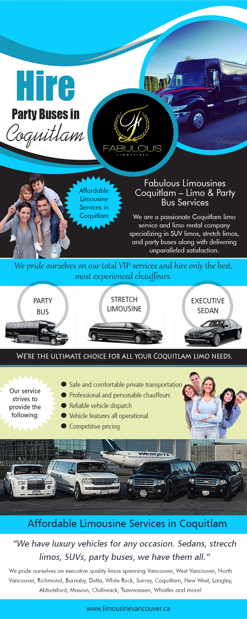 Hire Party Buses in Coquitlam